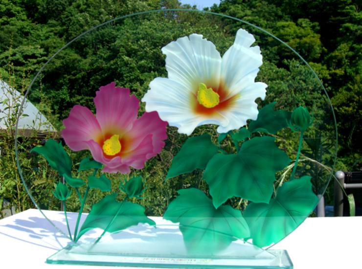 彩色エッチングガラスのサムネイル