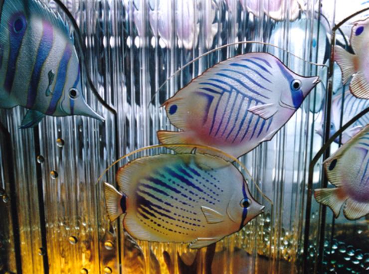 熱帯魚が泳いでます。のサムネイル