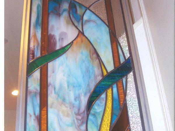 アースカラーのガラス
