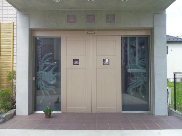 納骨堂入口