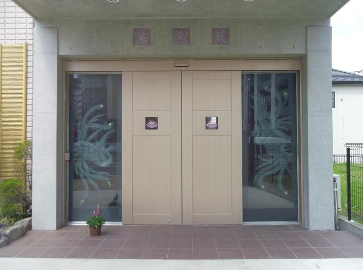 納骨堂入口のサムネイル