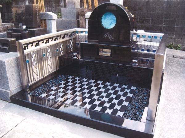 アートガラス墓石