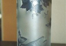 ガレ風グラス 花瓶