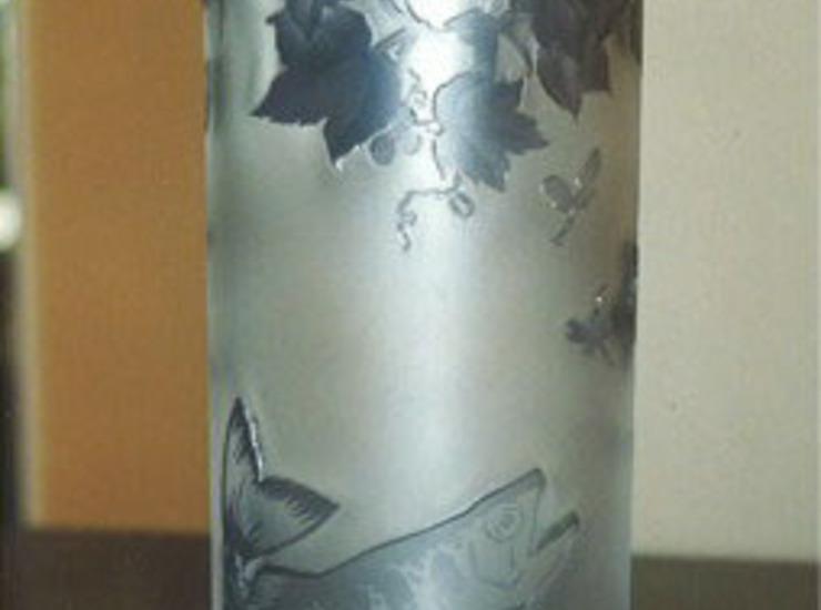 ガレ風グラス 花瓶のサムネイル