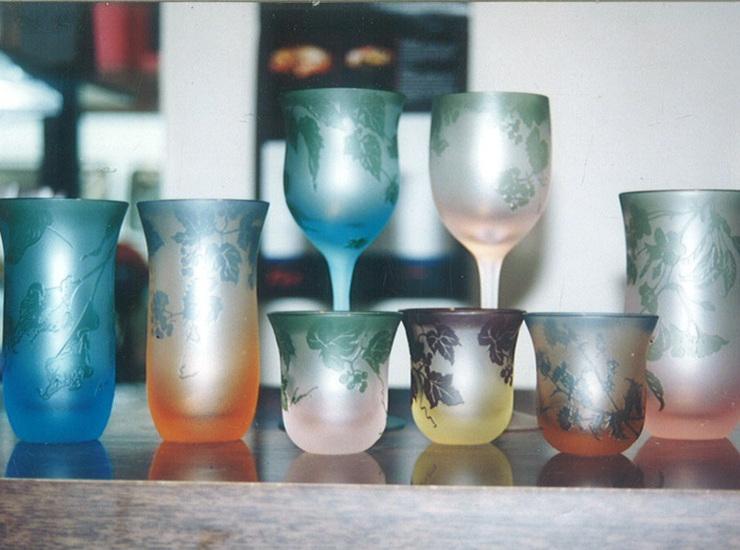 ガレ風グラスのサムネイル