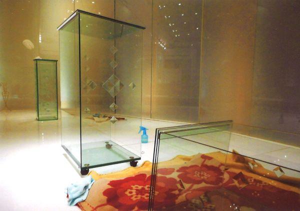 オリジナル ガラスの家具(ブライダルアートガラス)