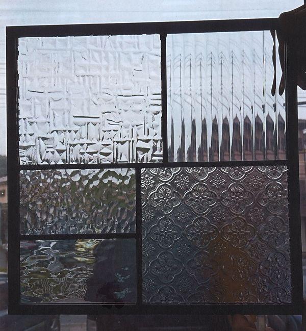 ワンポイントのステンドグラス(建築店舗住宅アートガラス)