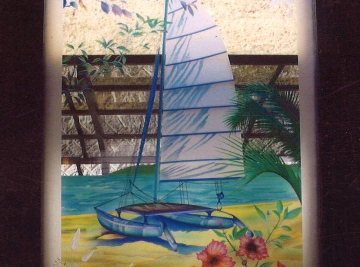 夏のイメージ ヨットのサムネイル