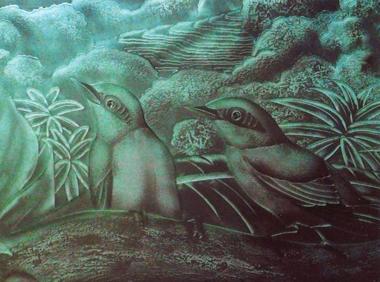 小鳥のいる風景のサムネイル