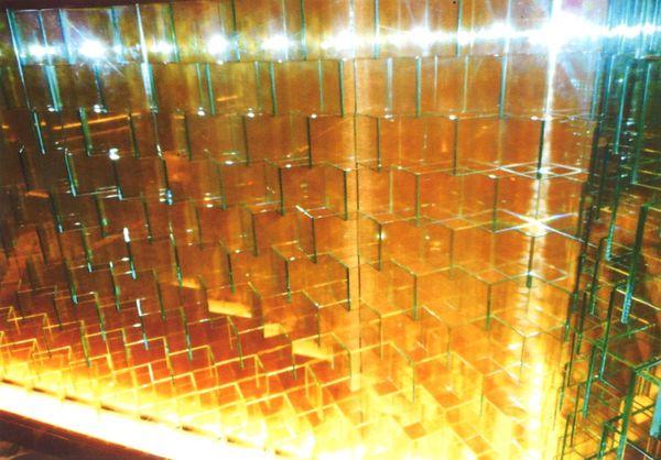 壁面アートガラス(建築・店舗アートガラス)