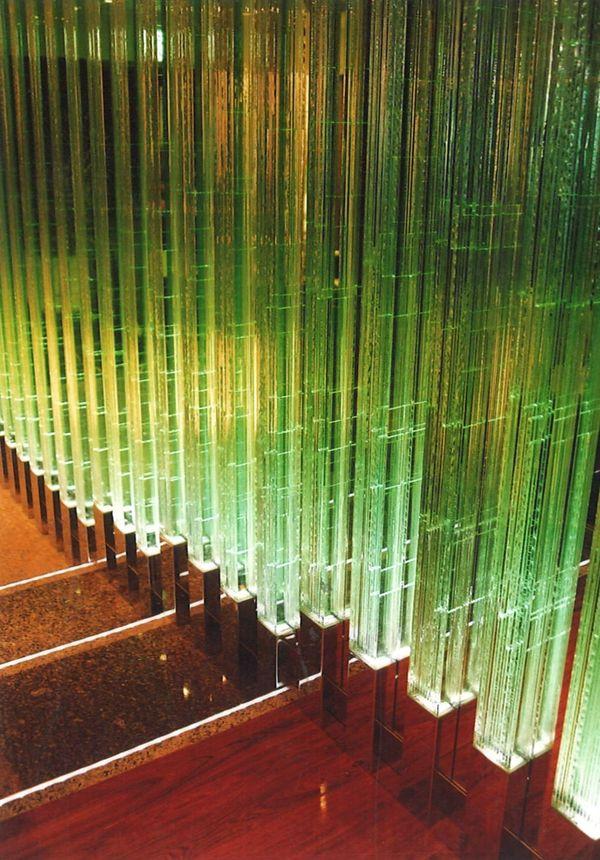 積層ガラス (建築・スタックアートガラス)