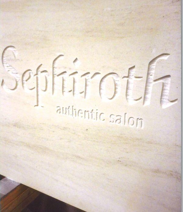 石のサンドブラスト(建築・フューネラル彫刻)