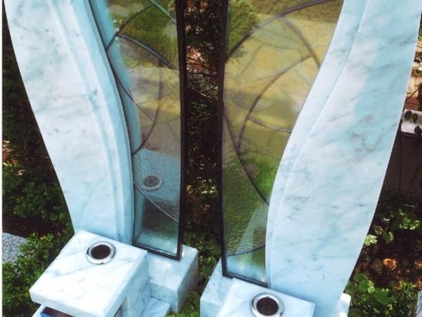 ステンド+墓石