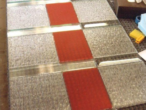 鉛線の無いステンドグラス 2