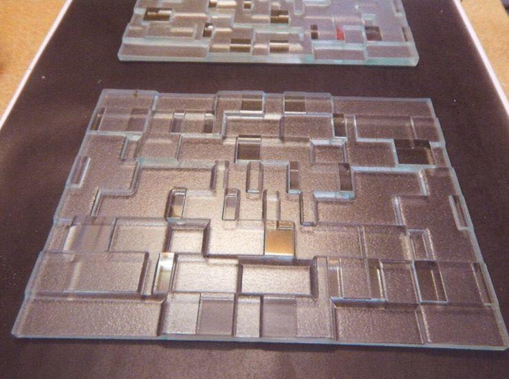 深彫幾何学アートのサムネイル