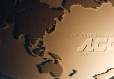 世界地図のサイン