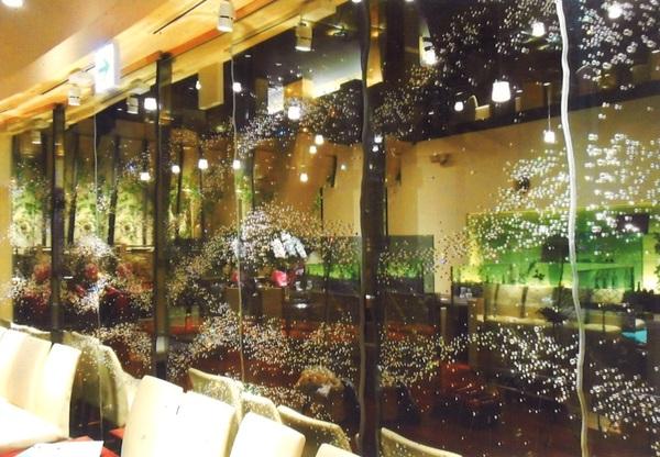 レストランアートガラス (ホテル・店舗アートガラス)