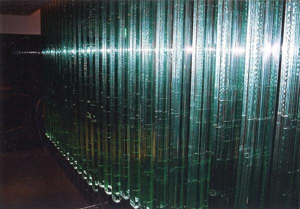 アートガラス柱 (店舗・住宅アートガラス)