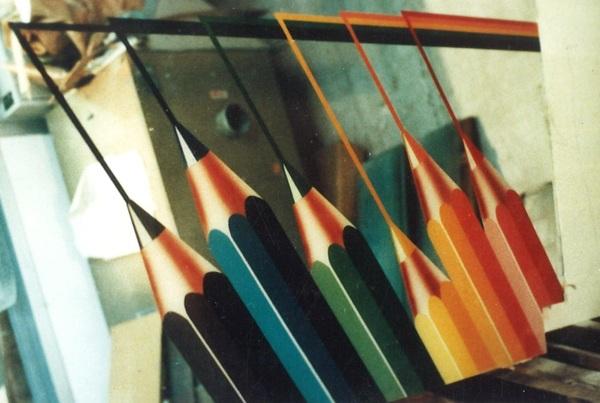 住宅アートガラス  彩色アートガラス