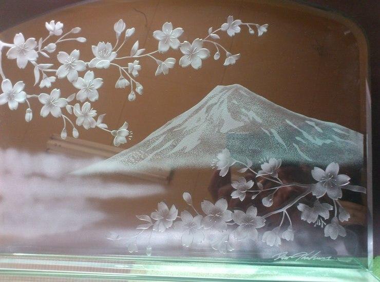 富士山と桜のサムネイル
