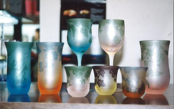 ガラスの色 (アートガラス 彩色)