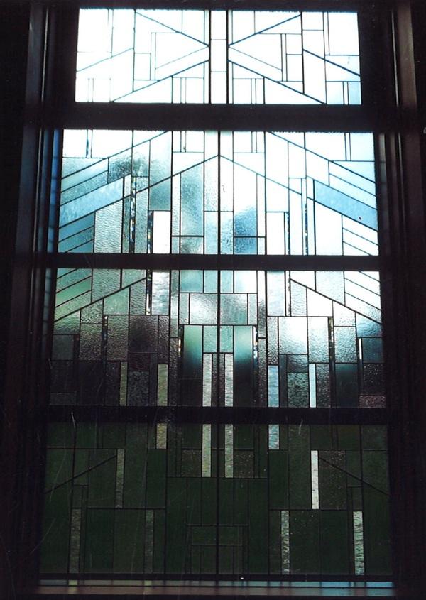 フランクロイドライトのステンドグラス(住宅ステンドグラス)