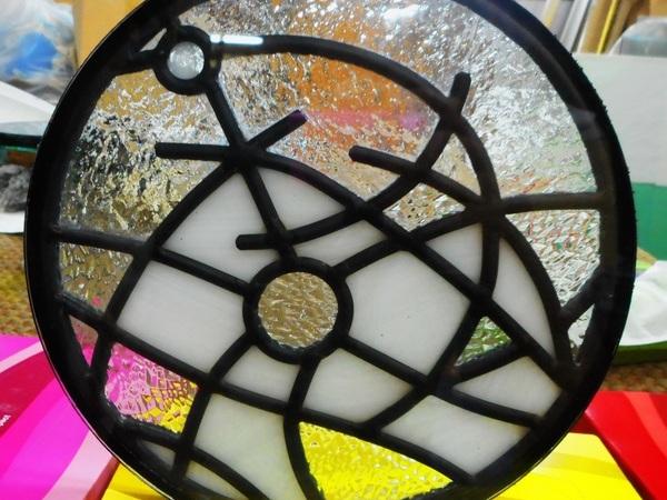 アートガラス墓 1