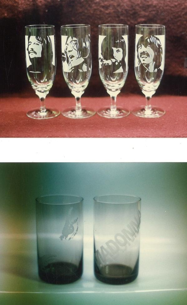 グラス(サンドブラストのグラス)