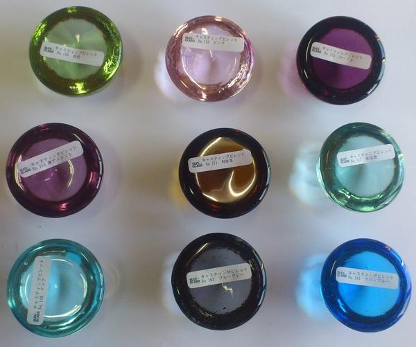 溶かすガラス技法(キルンワーク)